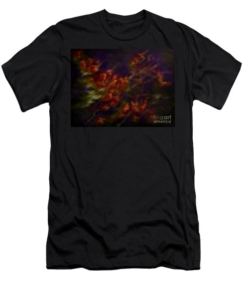 Men's T-Shirt (Slim Fit) featuring the digital art Ardor by Amyla Silverflame