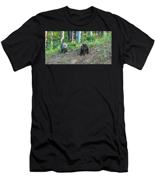 Men's T-Shirt (Slim Fit) featuring the photograph Are You Coming With Me by Yeates Photography
