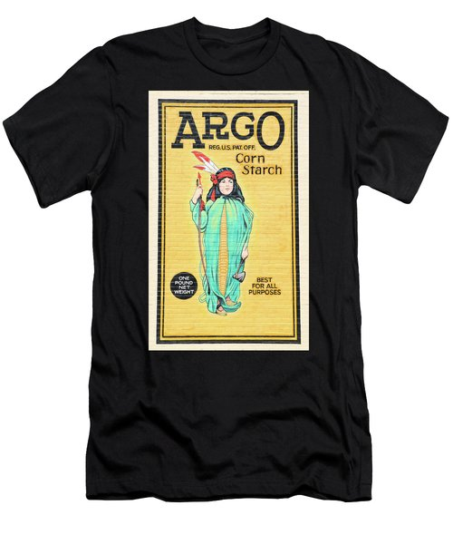 Argo Corn Starch Wall Advertising Men's T-Shirt (Athletic Fit)