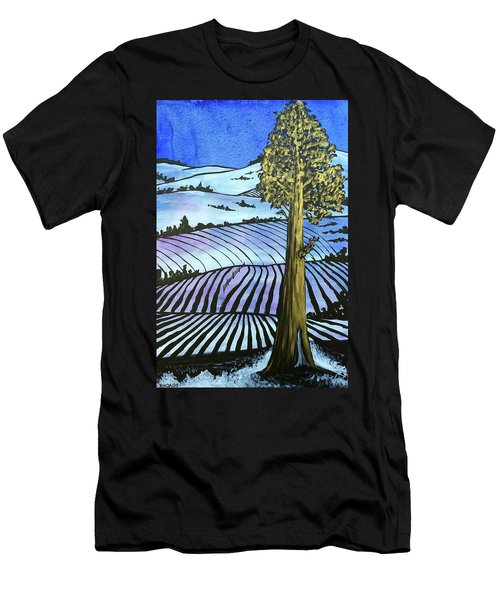 Men's T-Shirt (Athletic Fit) featuring the painting Arise And Shine by Nathan Rhoads