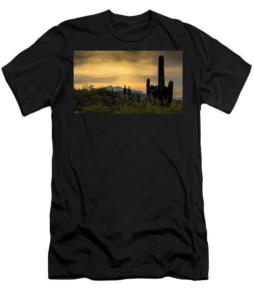 Arizona And The Sonoran Desert Men's T-Shirt (Athletic Fit)