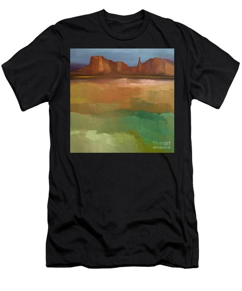 Men's T-Shirt (Athletic Fit) featuring the painting Arizona Calm by Michelle Abrams