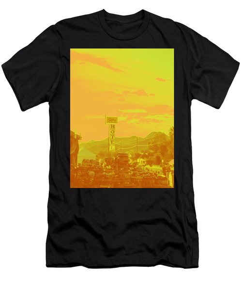 Men's T-Shirt (Slim Fit) featuring the photograph Arizona Road I by Carolina Liechtenstein