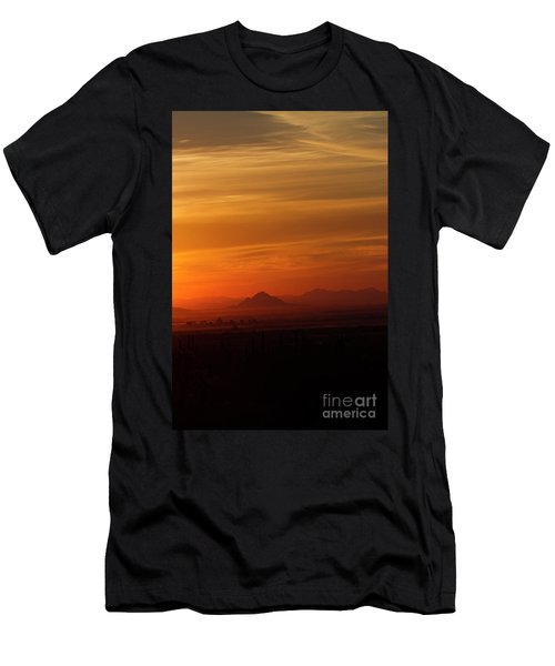 Arizona Sunrise Men's T-Shirt (Slim Fit) by Anne Rodkin