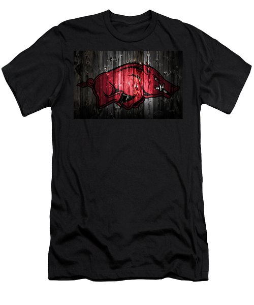 Arkansas Razorbacks 2a Men's T-Shirt (Athletic Fit)