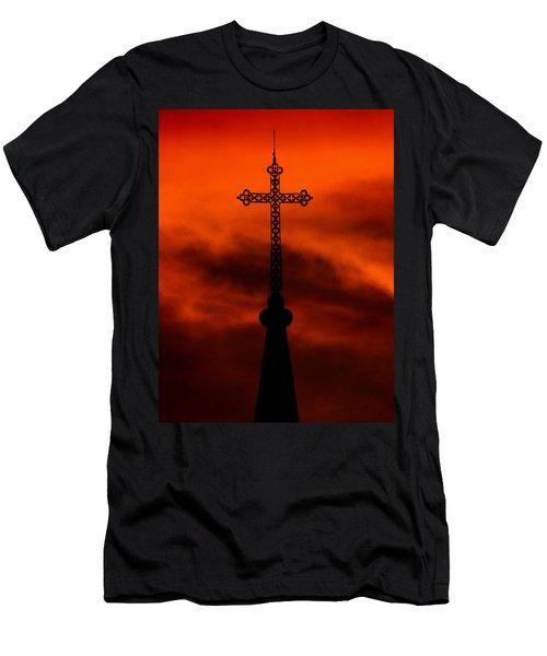 Armageddon The Wrath Of Hurricane Irma Men's T-Shirt (Athletic Fit)