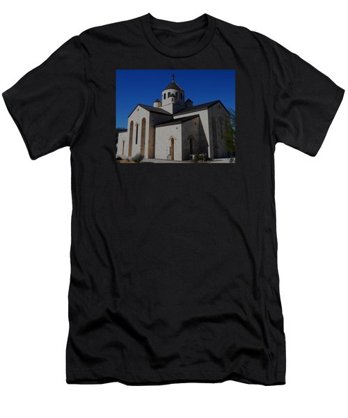 Armenian Church 2 Men's T-Shirt (Athletic Fit)
