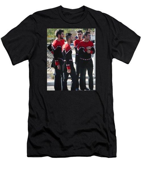 Armenian Dancers 12 Men's T-Shirt (Athletic Fit)