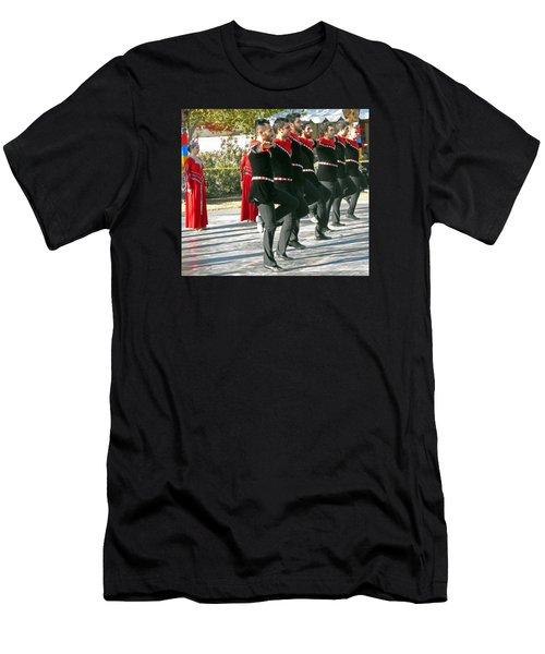 Armenian Dancers 13 Men's T-Shirt (Athletic Fit)