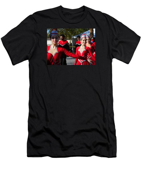 Armenian Dancers 14 Men's T-Shirt (Athletic Fit)
