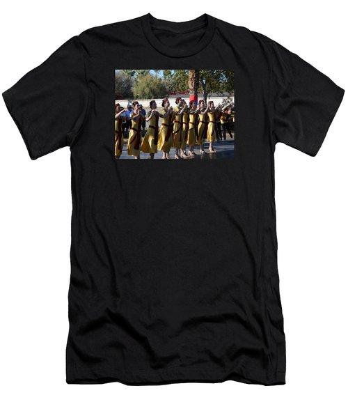Armenian Dancers 2 Men's T-Shirt (Athletic Fit)