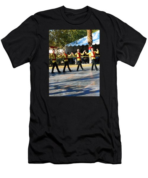Armenian Dancers 7 Men's T-Shirt (Athletic Fit)