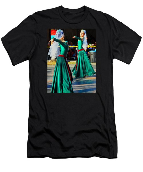 Armenian Dancers 9 Men's T-Shirt (Athletic Fit)