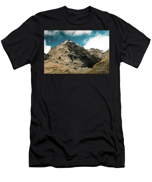 Around Holy Kailas Himalayas Tibet Yantra.lv Men's T-Shirt (Athletic Fit)