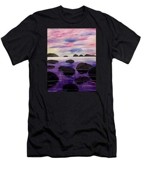 Around This Love Men's T-Shirt (Slim Fit) by Lisa Aerts