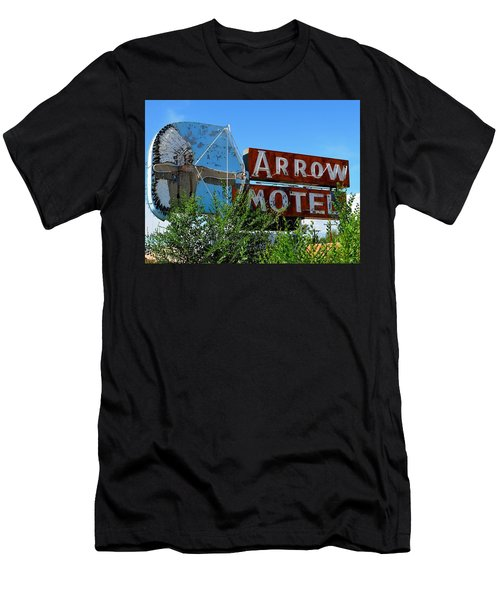 Arrow Motel Men's T-Shirt (Athletic Fit)