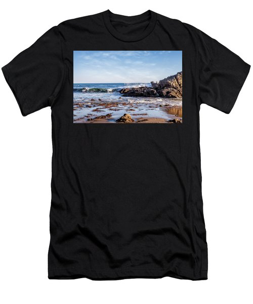 Arroyo Sequit Creek Surf Riders Men's T-Shirt (Athletic Fit)