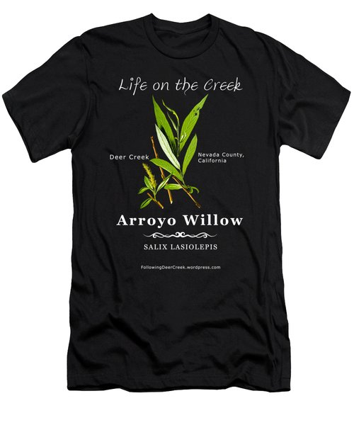 Arroyo Willow - Color Men's T-Shirt (Athletic Fit)