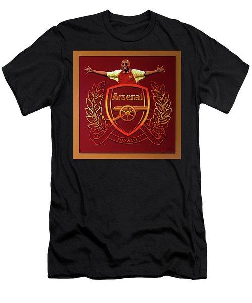 Arsenal London Painting Men's T-Shirt (Athletic Fit)