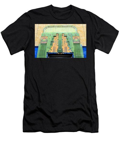 Art Deco Facade At Old Public Market Men's T-Shirt (Athletic Fit)