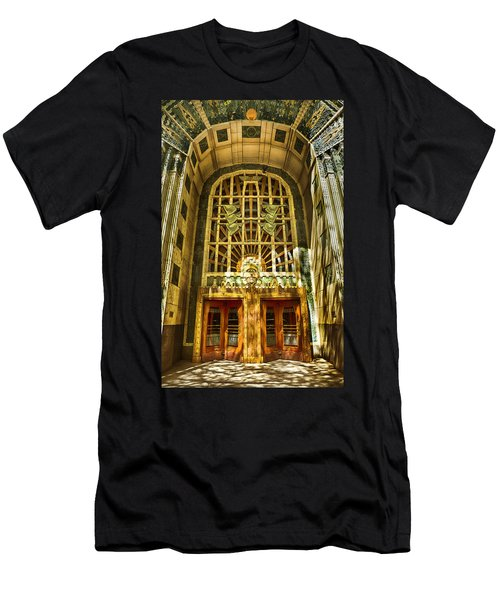 Art Deco Marine Building Men's T-Shirt (Athletic Fit)