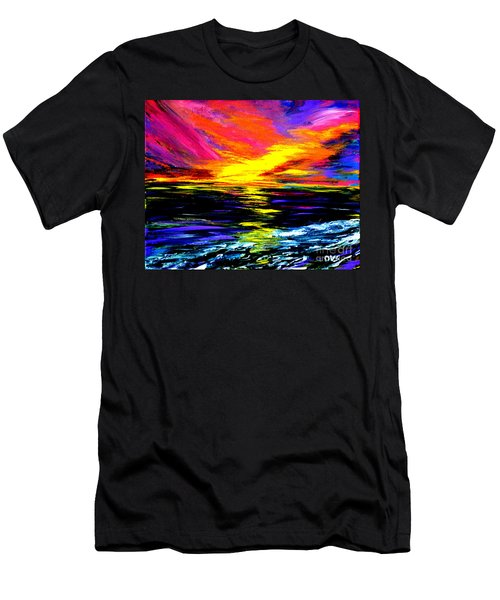 Art For Health And Life. Painting 8. Splendid Men's T-Shirt (Athletic Fit)