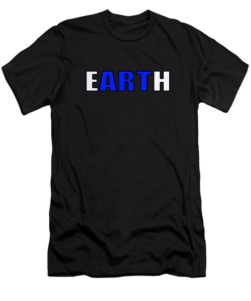 Art In Earth Men's T-Shirt (Athletic Fit)