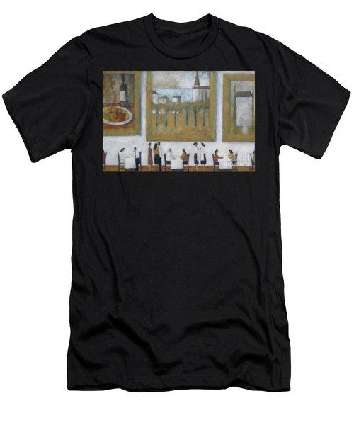 Art Is Long, Life Is Short Men's T-Shirt (Athletic Fit)