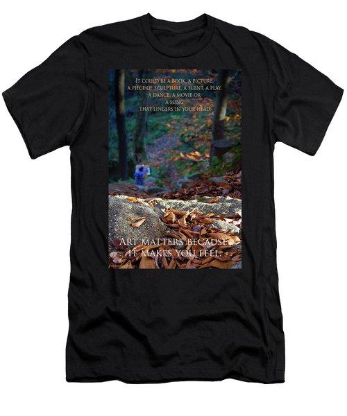 Art Matters Men's T-Shirt (Athletic Fit)