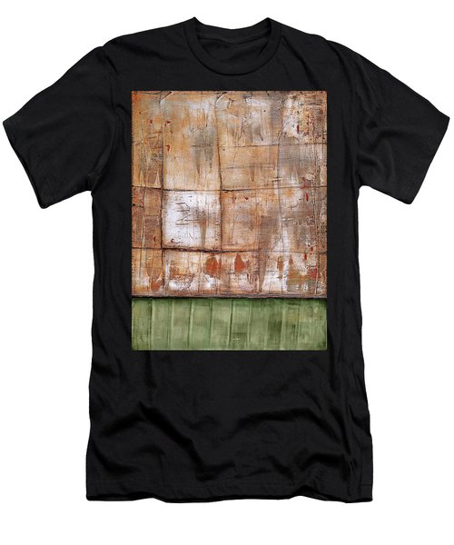 Art Print Abstract 35 Men's T-Shirt (Athletic Fit)
