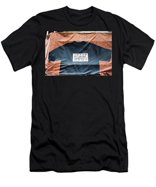 Art Shirt Men's T-Shirt (Athletic Fit)