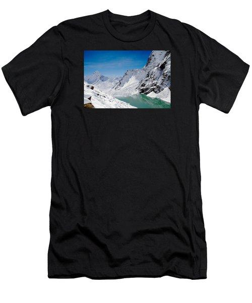 Artic Landscape Men's T-Shirt (Athletic Fit)