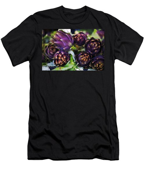 Artichokes  Men's T-Shirt (Slim Fit) by Joana Kruse