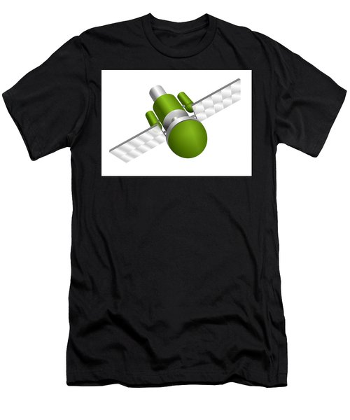 Artificial Satellite Men's T-Shirt (Athletic Fit)