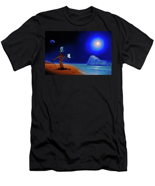 Artist Conversing Men's T-Shirt (Athletic Fit)