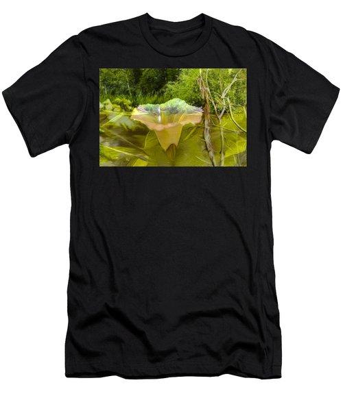 Artistic Double Men's T-Shirt (Athletic Fit)