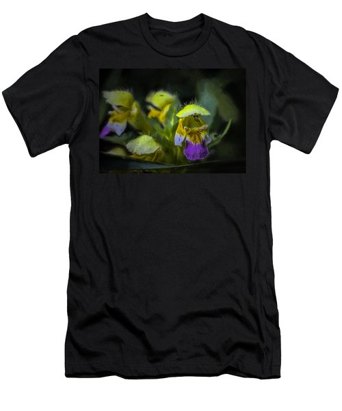 Men's T-Shirt (Slim Fit) featuring the photograph Artistic Hover by Leif Sohlman