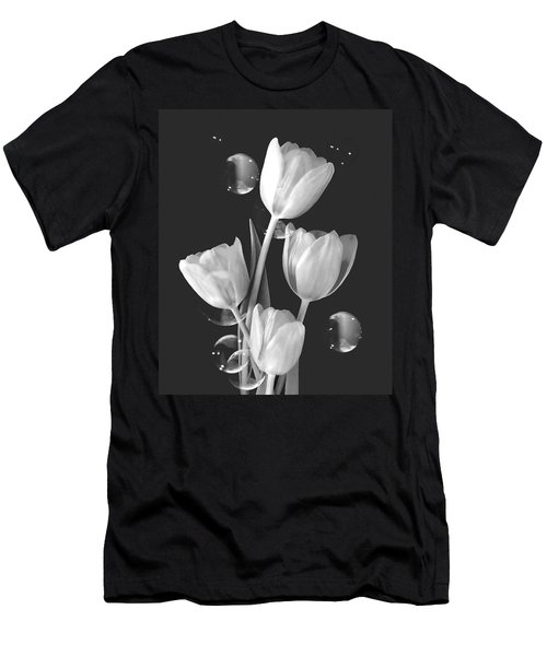 Artistic Tulip Bouquet 2  Men's T-Shirt (Athletic Fit)