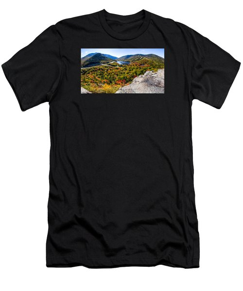 Artists Bluff, Franconia Notch Men's T-Shirt (Athletic Fit)