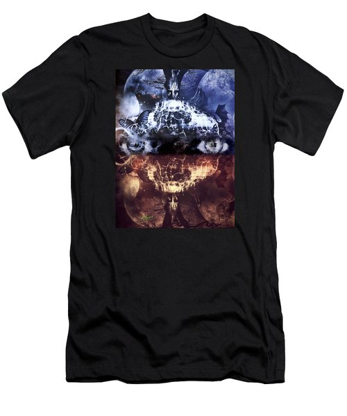 Men's T-Shirt (Athletic Fit) featuring the mixed media Artist's Vision by Al Matra