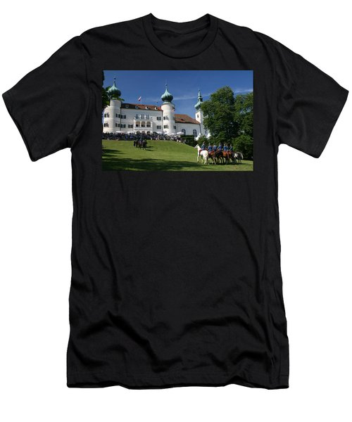 Artstetten Castle In June Men's T-Shirt (Athletic Fit)