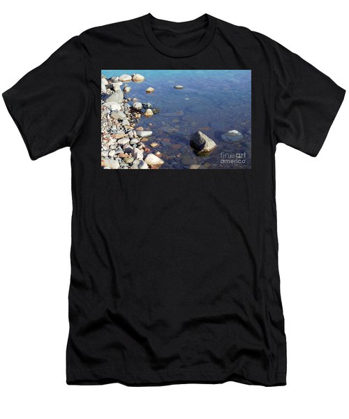 Men's T-Shirt (Athletic Fit) featuring the photograph Artsy Rocks by Victor K