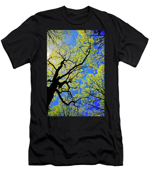 Artsy Tree Canopy Series, Early Spring - # 02 Men's T-Shirt (Athletic Fit)