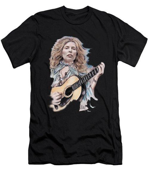 Joni Mitchell Men's T-Shirt (Athletic Fit)