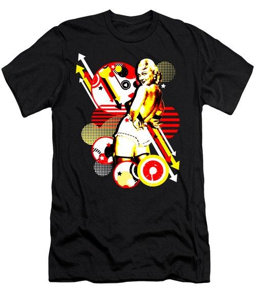 Striptease Men's T-Shirt (Athletic Fit)