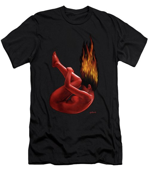 In Flame Men's T-Shirt (Athletic Fit)
