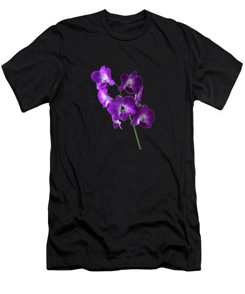 Floral Men's T-Shirt (Athletic Fit)