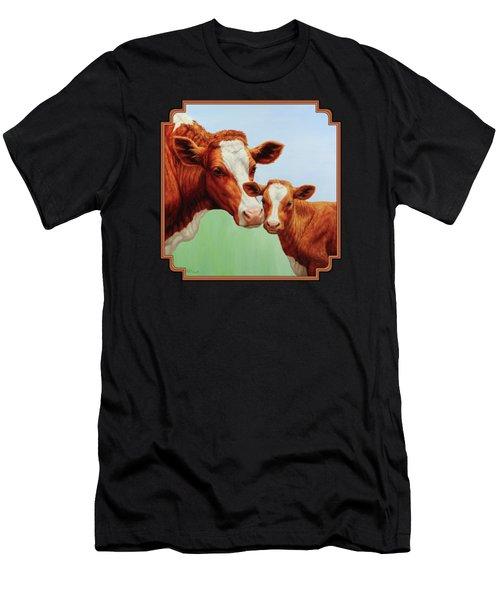 Cream And Sugar Men's T-Shirt (Athletic Fit)