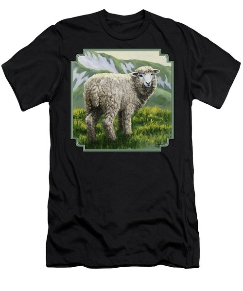 Highland Ewe Men's T-Shirt (Athletic Fit)