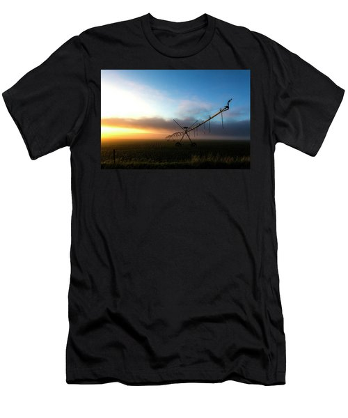 Sunrise Sprinkler Men's T-Shirt (Athletic Fit)